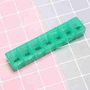 Pill box green