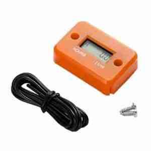 Hour meter orange