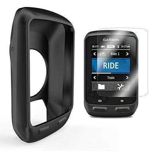 the best attitude f5313 d5c30 Silicone Protective cover for Garmin Edge 510 GPS and Tempered Glass screen  cover